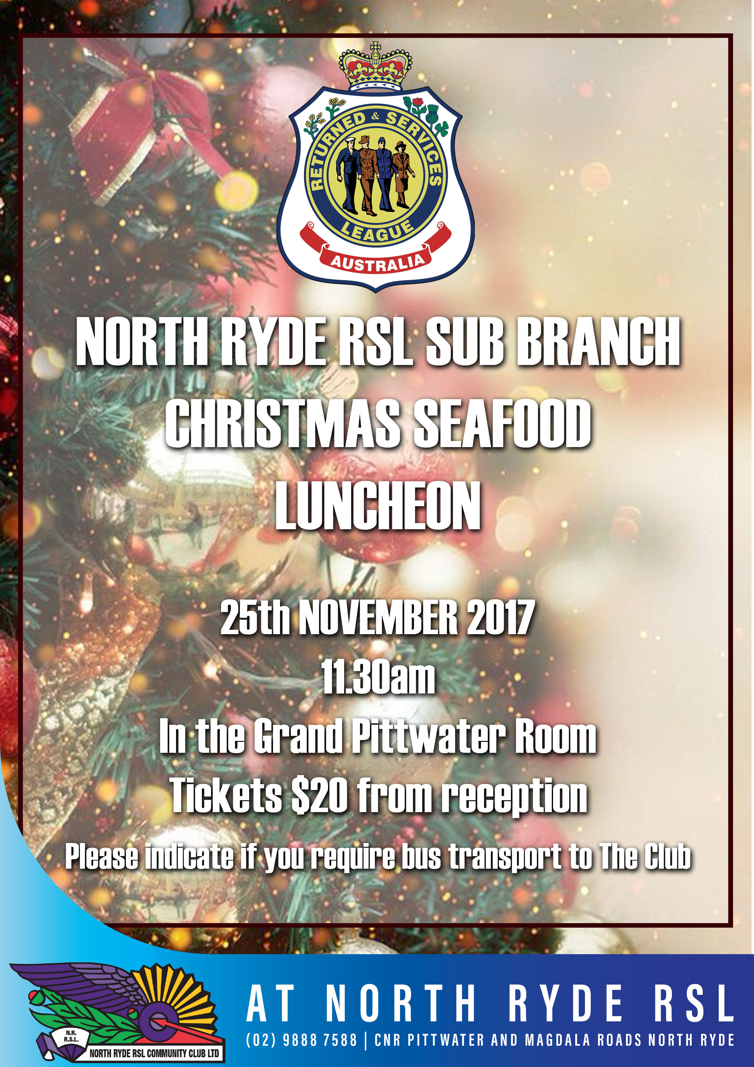 Christmas Luncheon 2017