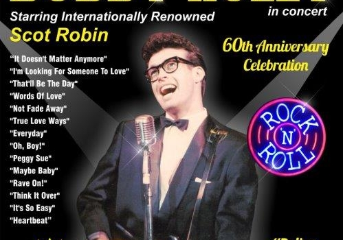 Buddy Holly in Concert starring Scot Robin