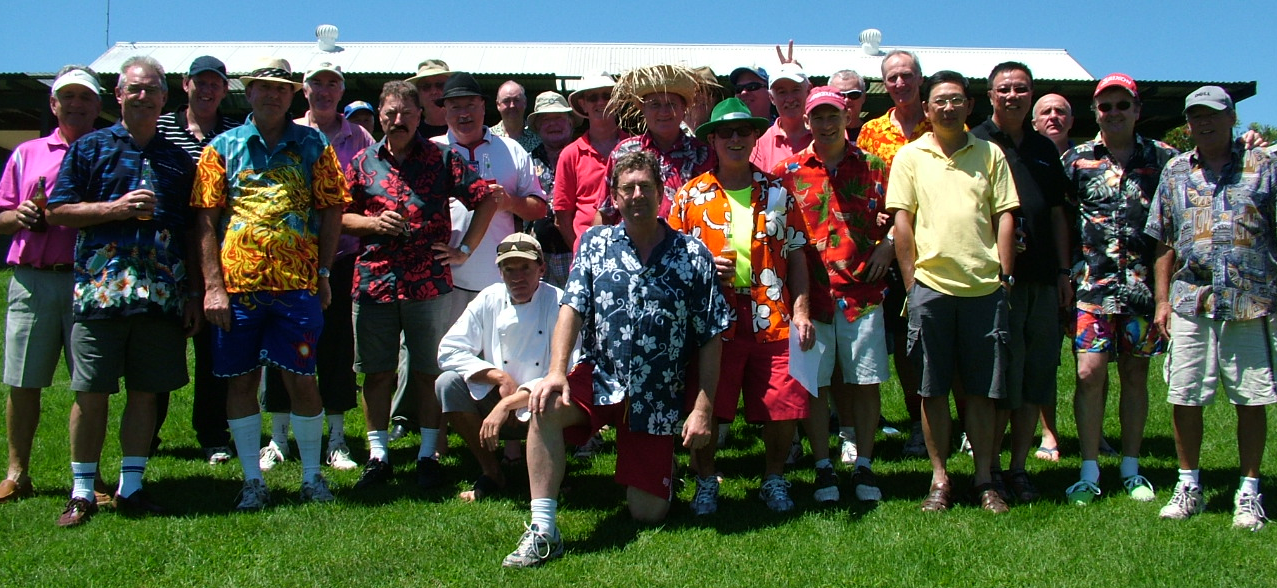 NR RSL Golf Section Group Photo