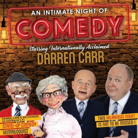 An Intimate Night Of Comedy starring Darren Carr